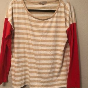 Gap two toned long sleeve